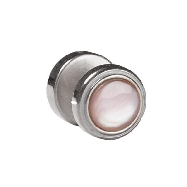 Fake Plug Seashell, Silber-Farbton