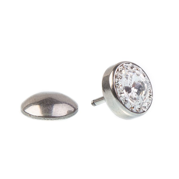 "Fake Plug ""Lottes Favourite"", silber"