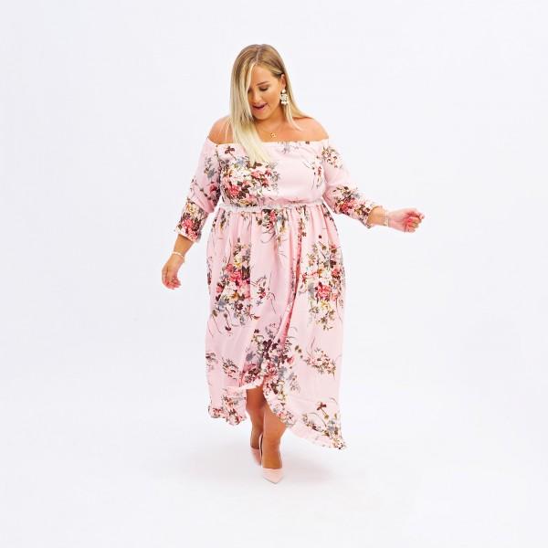 Kleid Steffi Rosa
