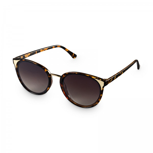 "Sonnenbrille ""Cat Eye"" Braun"