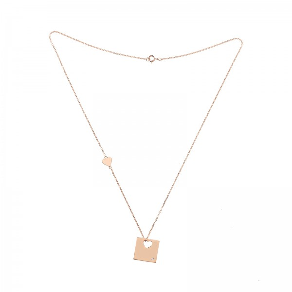 Kette New York Rosegold