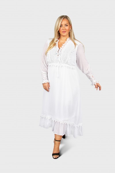 Kleid Rose WEISS