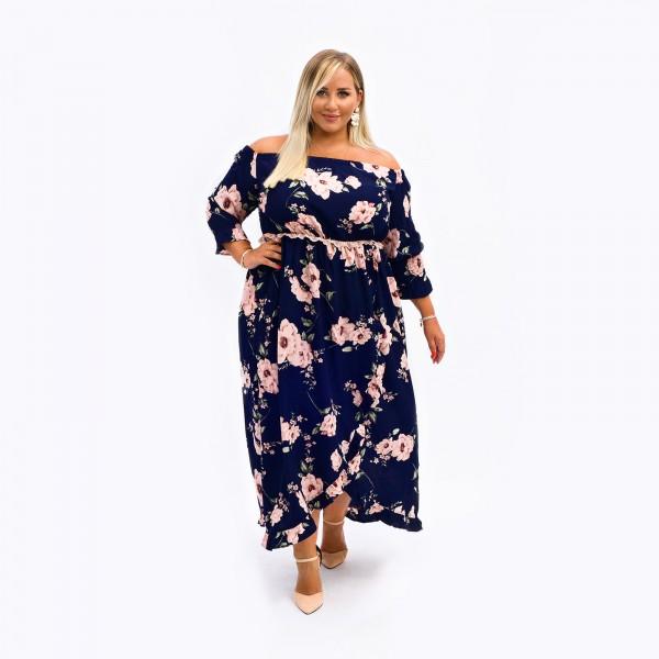 Kleid Steffi Blau